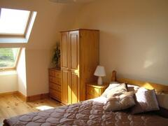 Bright and spacious upstairs bedroom