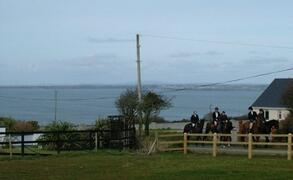 Horse Riding School,a half a mile from Littor Cottage.All welcome.