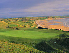 Ballybunion Championship Golf, 10 mins drive from Littor Cottage