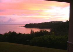Wake up to a Glorious Sunrise over Kalihiwai Bay