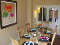 Property Photo: Elegant dining Room
