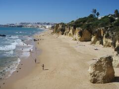 Sandy beaches just 10 mins walk