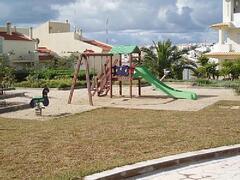 garden and children area