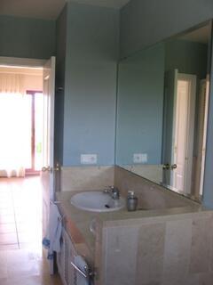 Main bedroom's ensuite bathroom/shower room looking onto bedroom