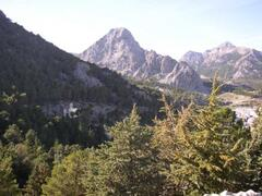 mountains near grazalema