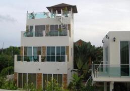 Property Photo: Luxury Seaview Villa with poolside studio apartment