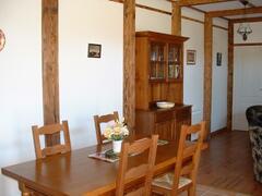 open plan dining/lounge