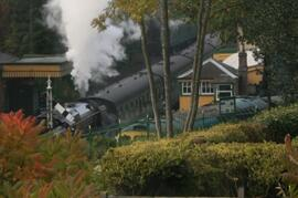 Property Photo: View from middle bedroom - every now and again you hear the steam engines.