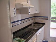 Fully fitted kitchen with separate utility room.  http://www.selwohillsapartments.com/