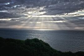 Cardigan Bay at sunset