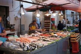 open air market - 200 meters away