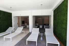 Private Cabanas by the Pool Area
