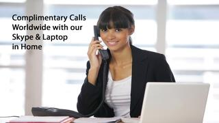 Complimentary-Calls-Worldwide-with-our-Skype-&-Laptop-in-Home