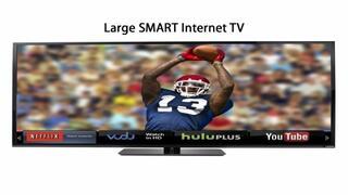 Large-SMART Google Chromecast -Internet-TV