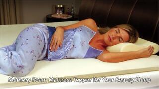 Memory-Foam-Mattress-Topper-for-Your-Beauty-Sleep