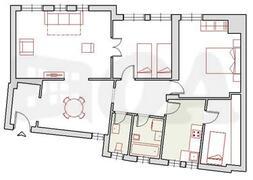 Property Photo: Apt blueprint