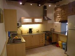 The kitchen of apartment Vettore