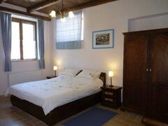 The main bedroom of apartment Vettore