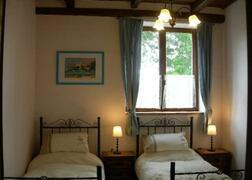 The smaller bedroom in apartment Vettore