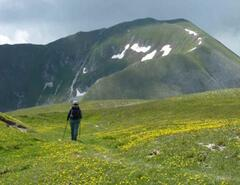 Walking in the Sibillini Mountains