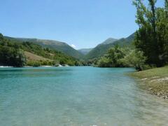 Swim in nearby Lago di Fiastra
