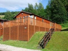 Due to the lodge elevation, it guarantees privacy and unobstructed views from the decking