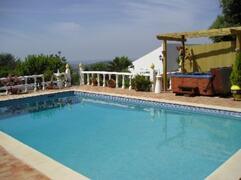Pool, hot tub & views
