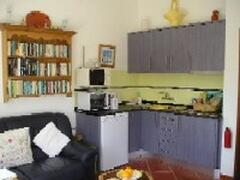 Carob Cottage kitchenette