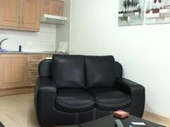 NEW 2 SEATER LEATHER SOFA