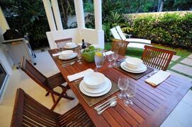 Plan a romatic dinner while enjoying a wonderful view