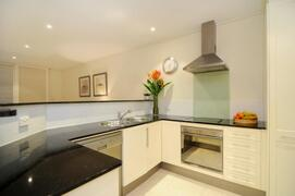Prepare meals in your fully equipped kitchen
