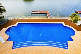 Electrically Heated Waterfront Swimming Pool