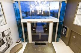 Impressive Entrance & Foyer With Electric Privacy Screen