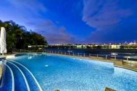 Large Electrically Heated Swimming Pool