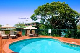 Steps Away From Large Fenced Swimming Pool Plus Nearby Resort Pool Access