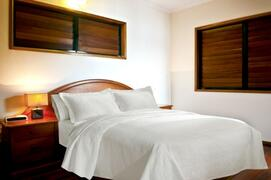 Upstairs Master Bedroom With Comfortable Queen Bed