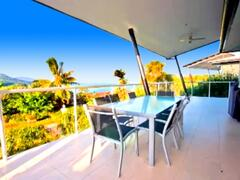 At the Deck with Ocean Views