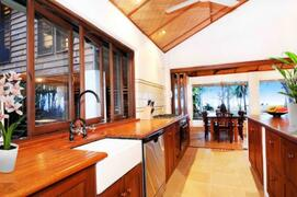 Kitchen with great equipments