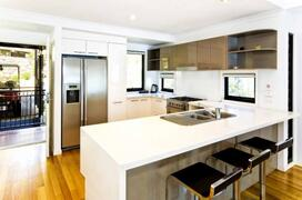 Modern Kitchen with Dishwasher, Microwave