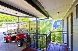 Carport with Golf Buggy