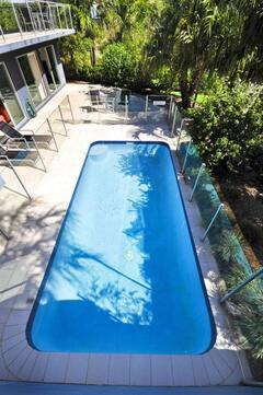 Your Own Private In-ground Fenced Swimming Pool Complete With Sun Lounges And Pool Toys