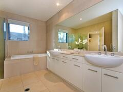 Master Ensuite With Duel Sink, Large Bath And Shower