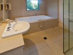 Third Bathroom With Shower And Large Bath