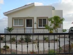 Property Photo: Top Storeyof Villa Athene - Entrance and Parking Area
