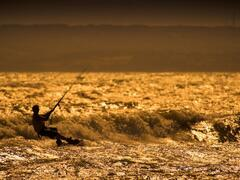 Property Photo: Ocean 17, Kite Surfing at Camber Sands on the beach, East Sussex
