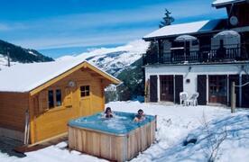 Property Photo: The hot tub