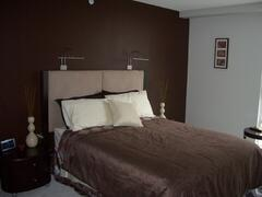 Property Photo: Master - Queen sized bed