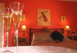 Property Photo: Bedroom One The Violin Room