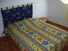 typical double bed