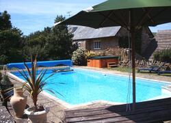 Property Photo: Farmhouse swimming pool
